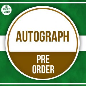 12th May Signing - Autograph - Pre Order